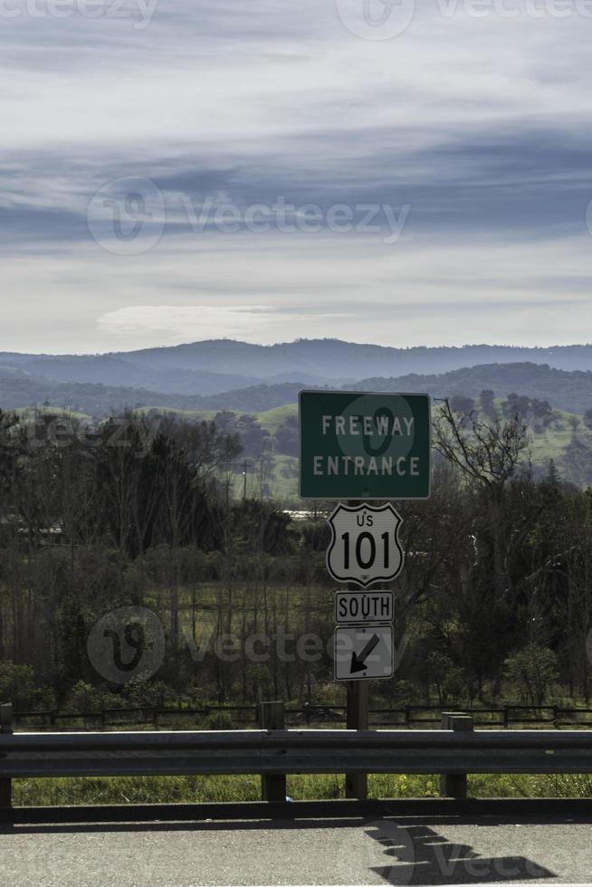snelweg 101 foto