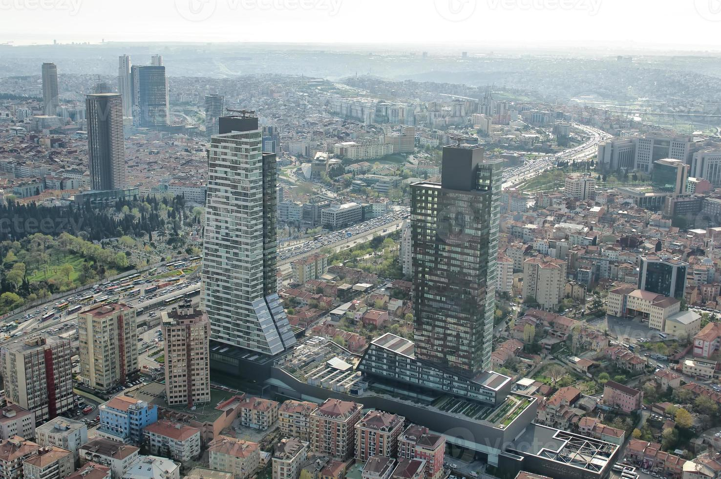 luchtfoto istanbul foto
