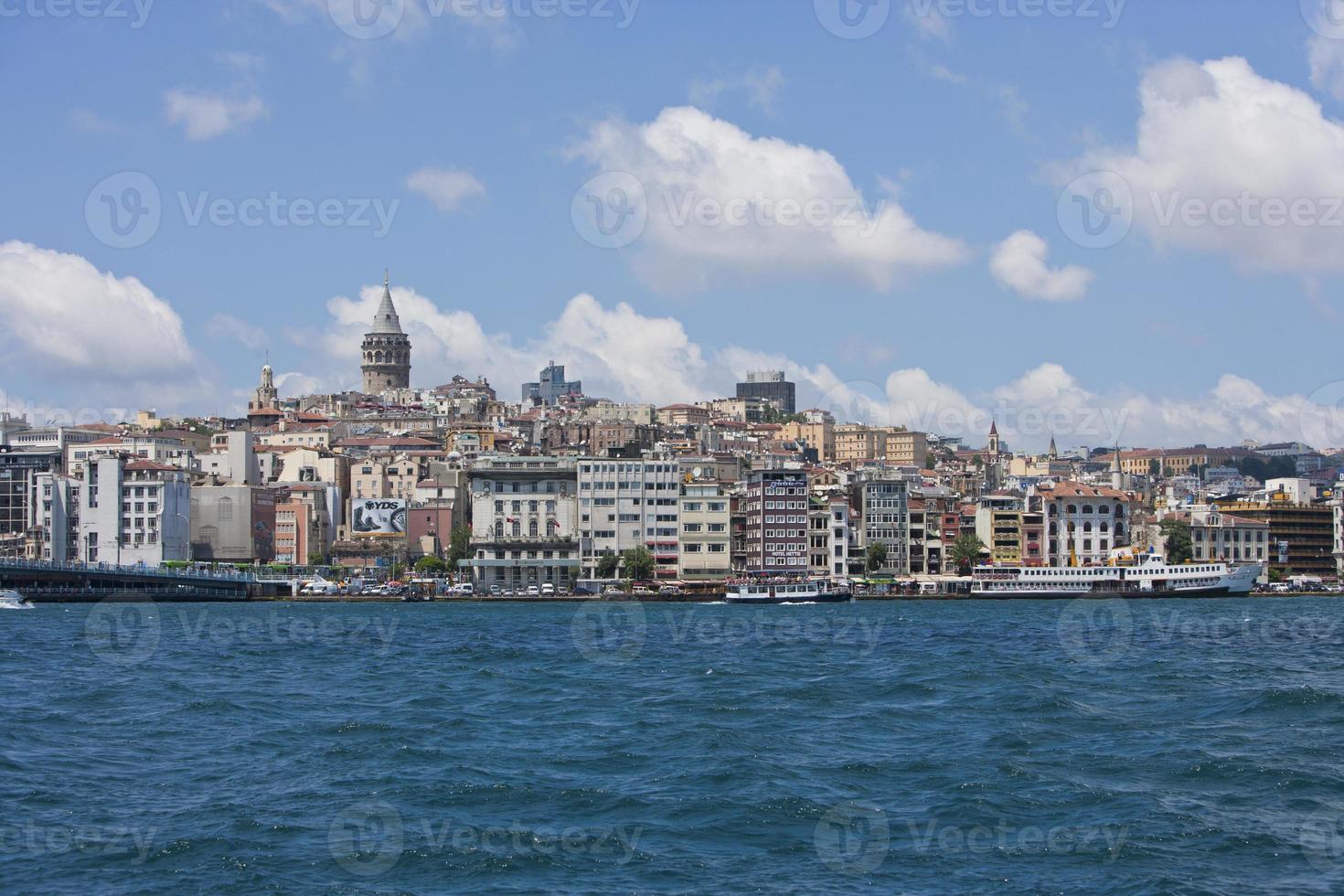 istanbul waterkant foto