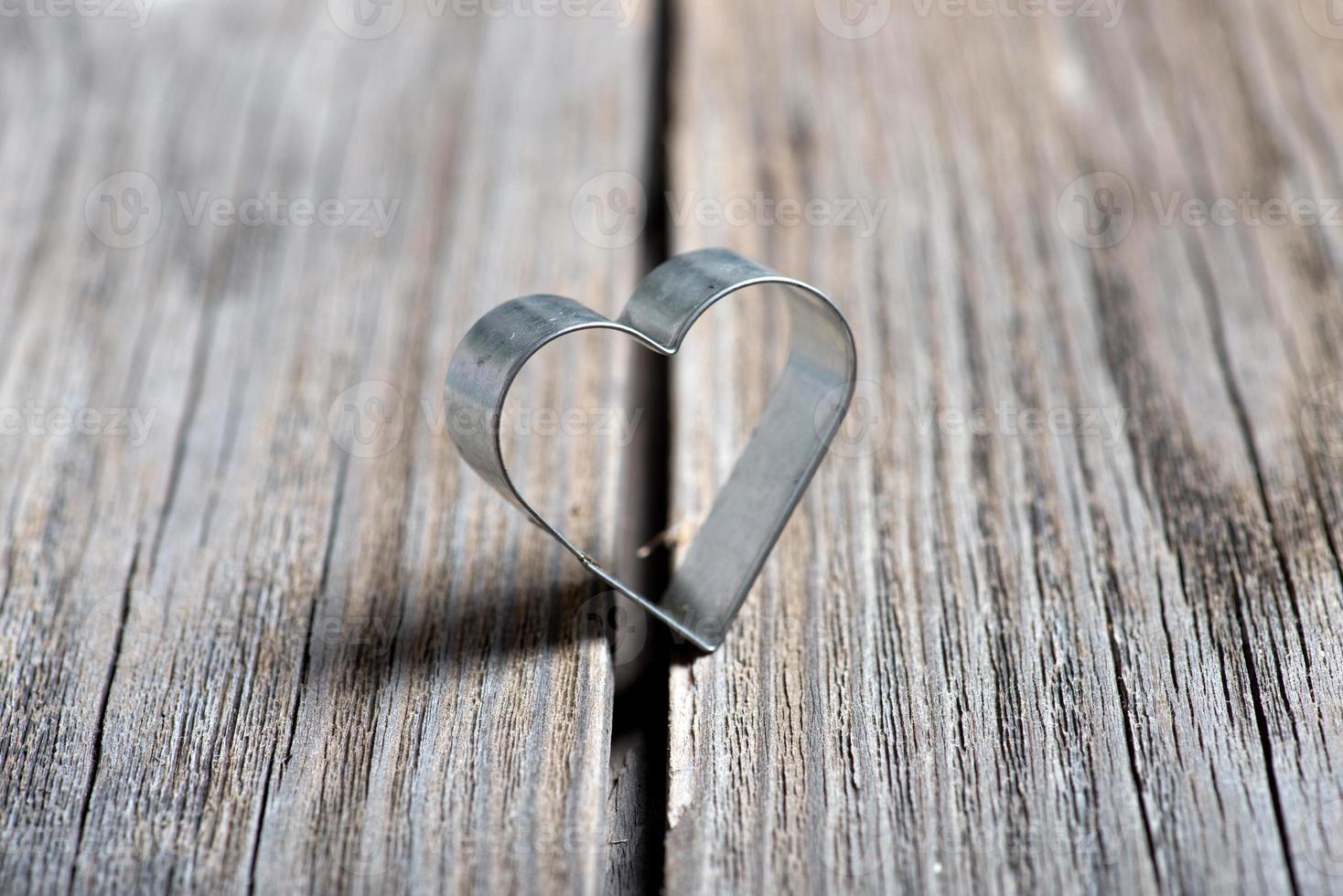 Valentijnsdag achtergrond met hart foto
