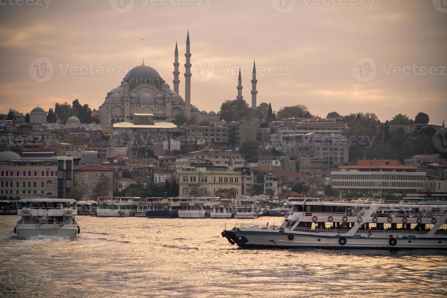 süleymaniye moskee, istanbul foto