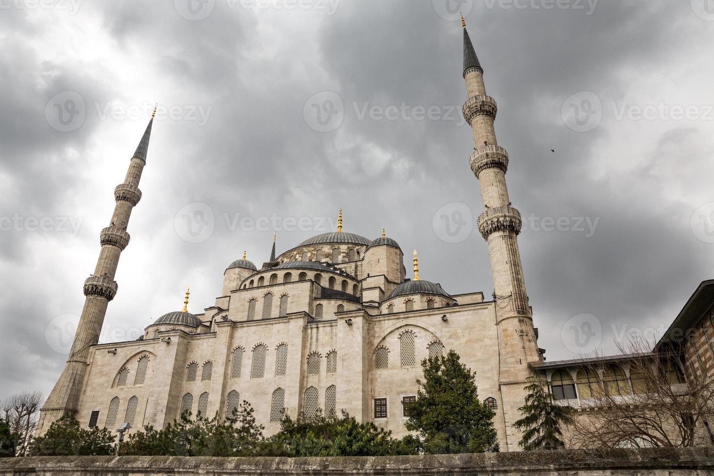 blauwe moskee, istanbul, turkije foto