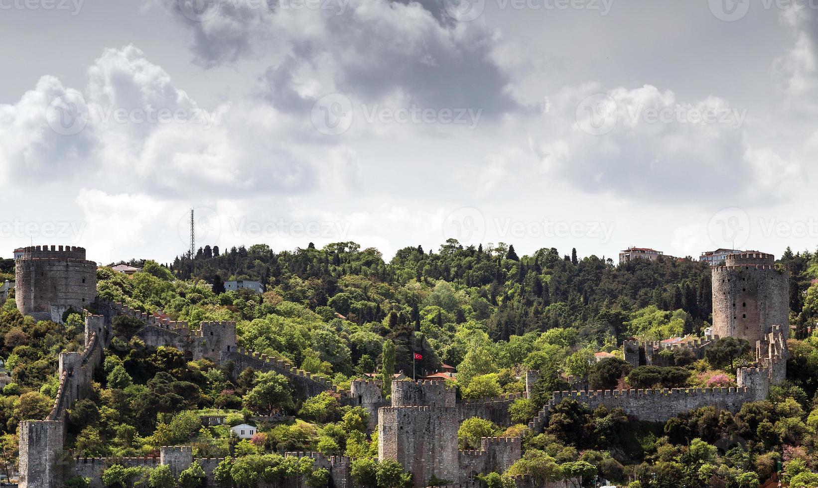 Fort in Istanbul, Turkije foto