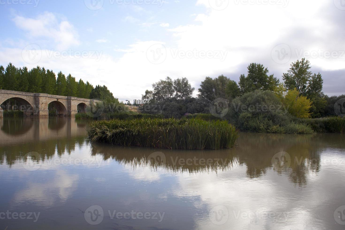 Fitero Bridge, Spanje foto