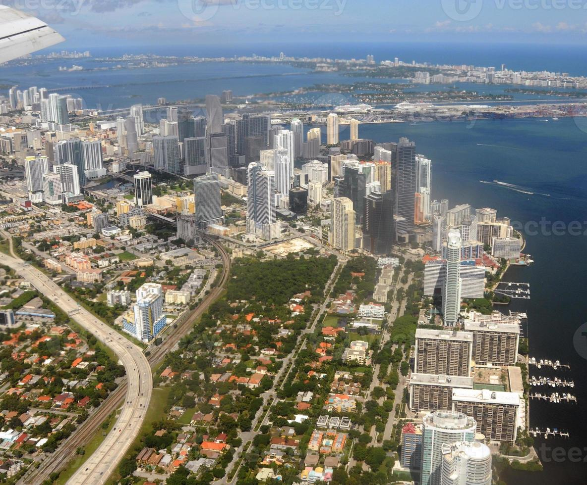 het centrum van Miami, Florida foto