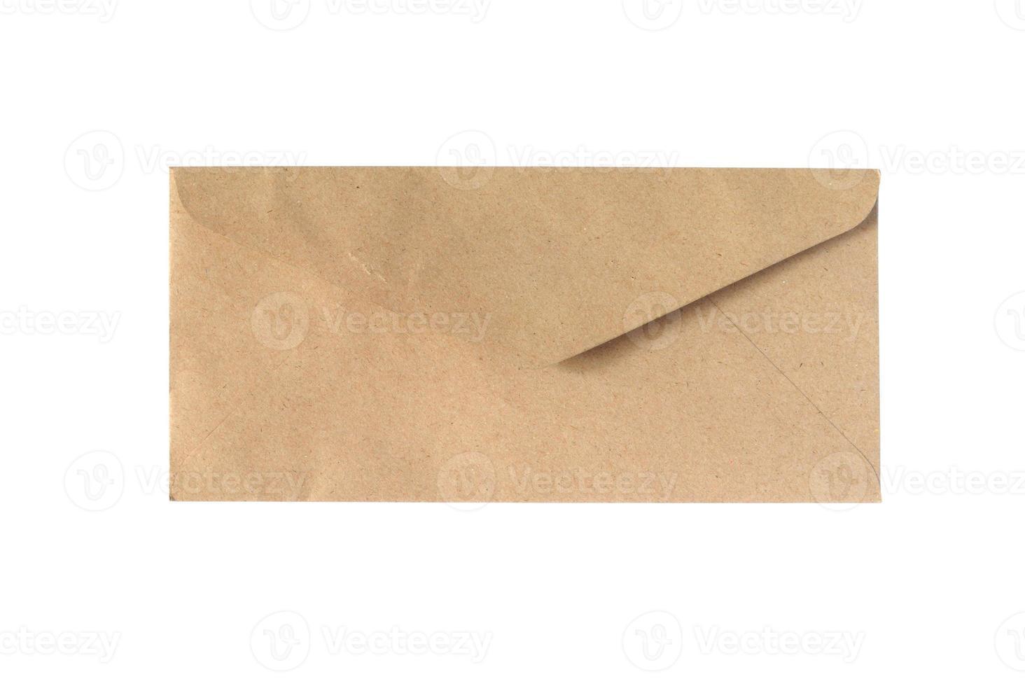 bruine envelop foto