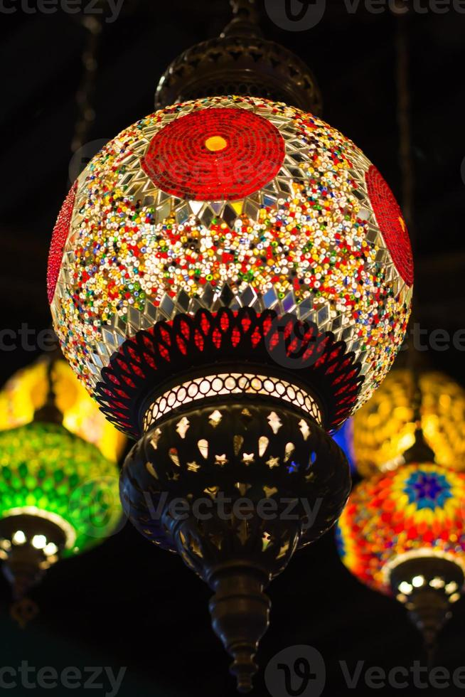 vintage lantaarn decor foto