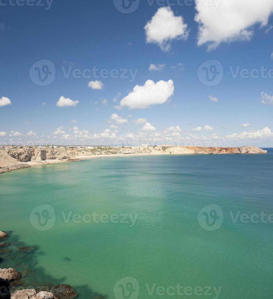 prachtige klif in Algarve, Portugal foto