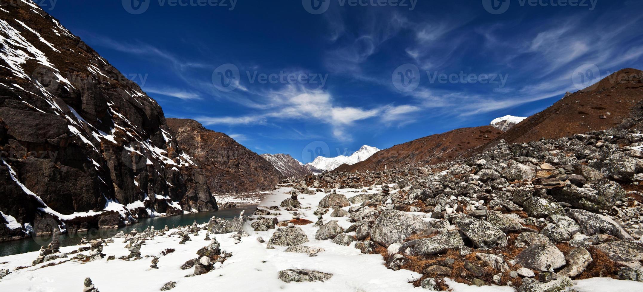sagarmatha nationaal park, nepal foto