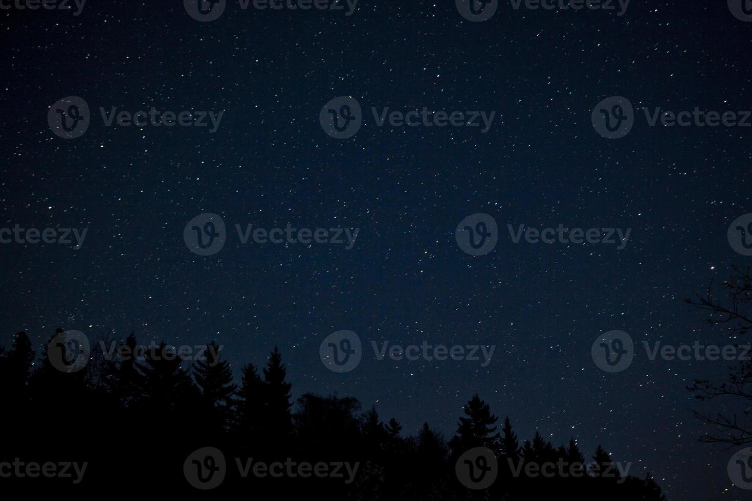 Acadia National Park met nachtsterren foto