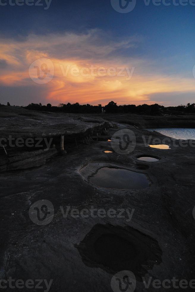 zonsondergang foto