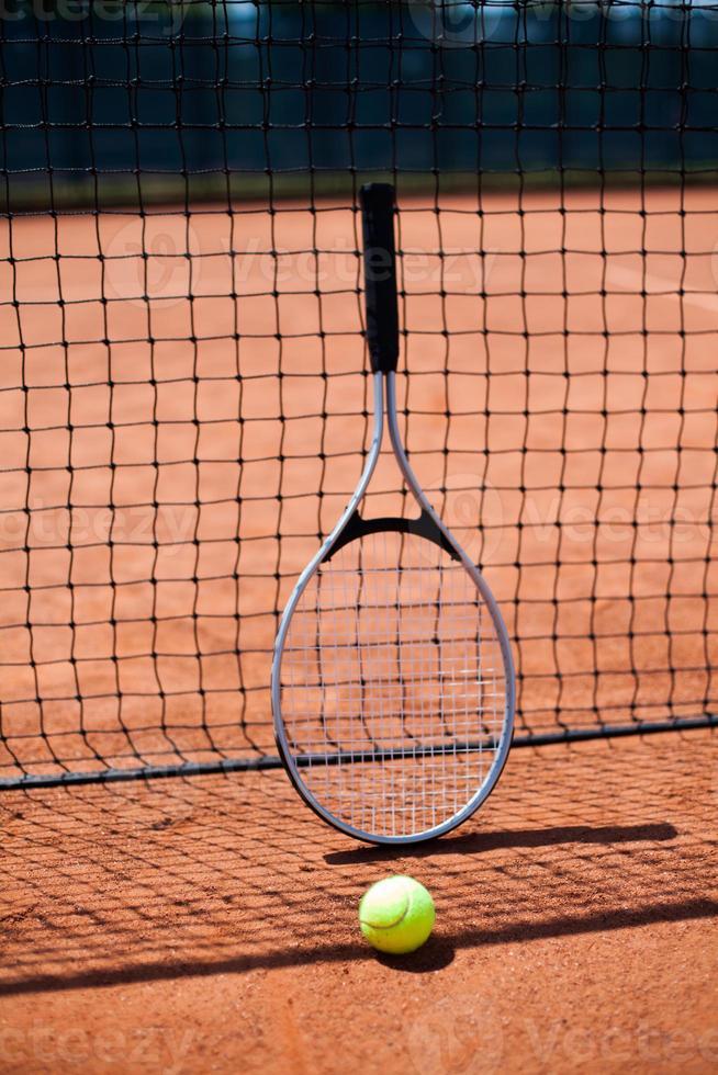 vrouwtje tennissen foto