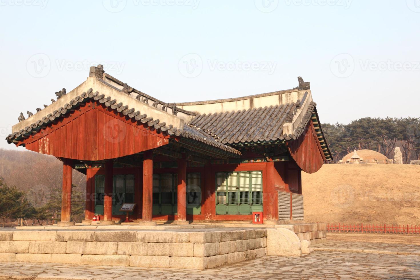 sealleung en jeongneung graven in seoul foto