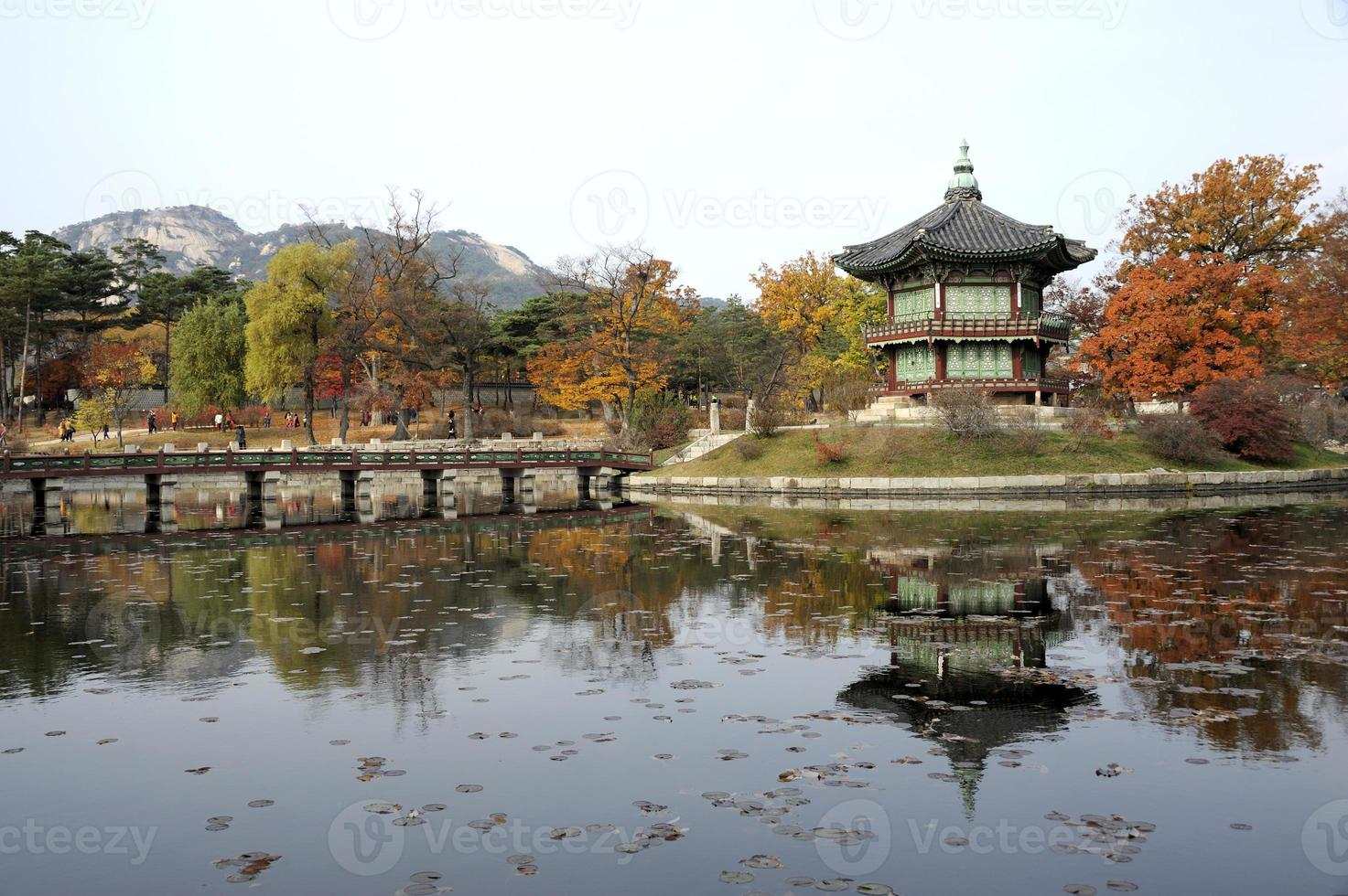 het hyangwonjeong-paviljoen foto