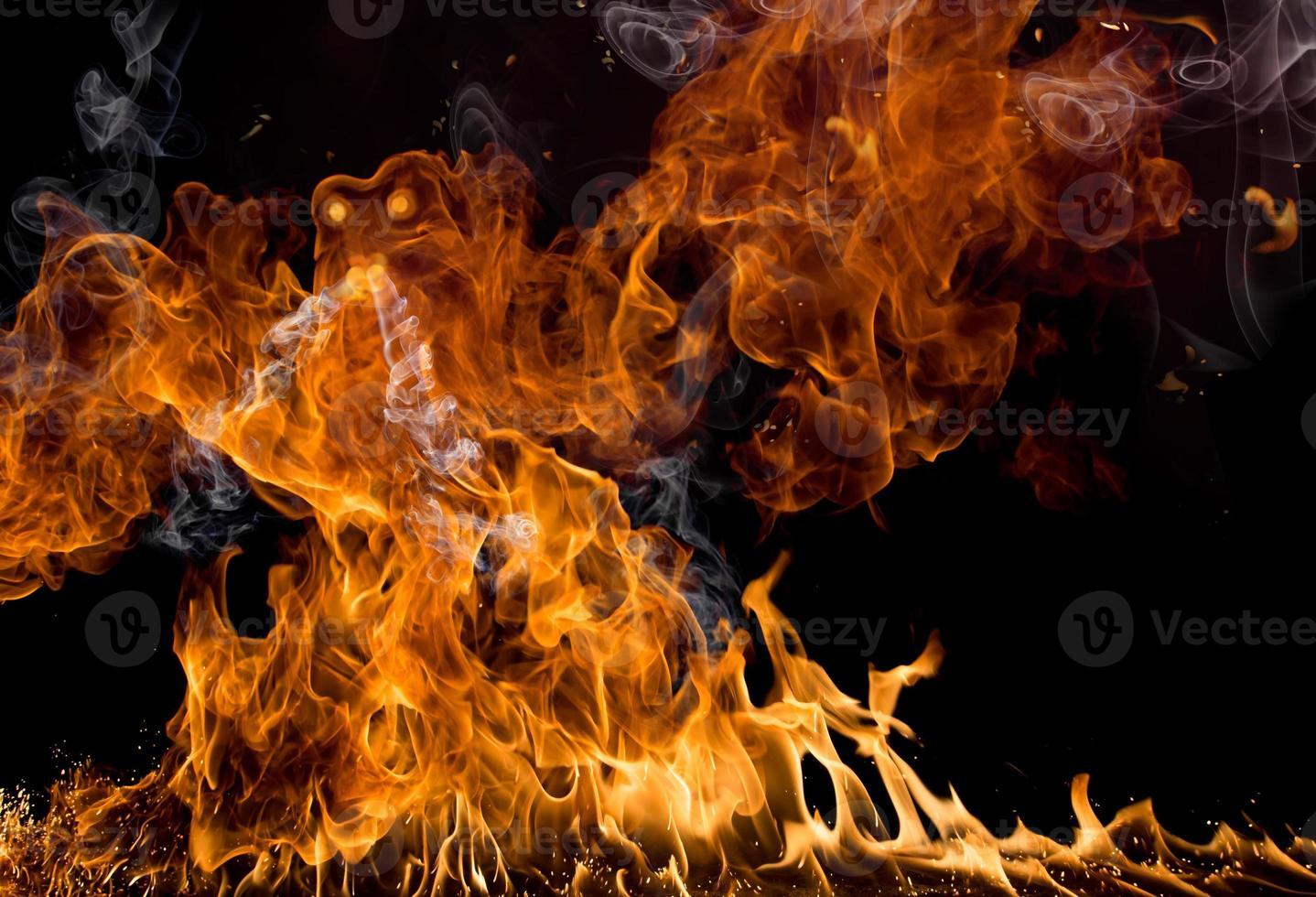 brand vlammen foto