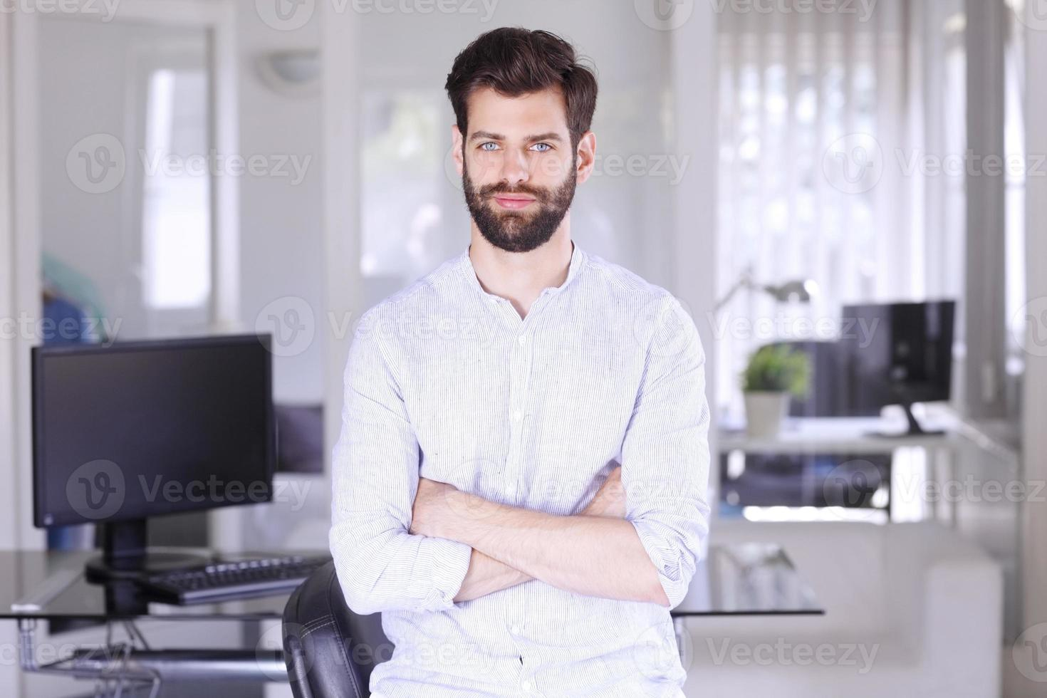 jonge professional foto