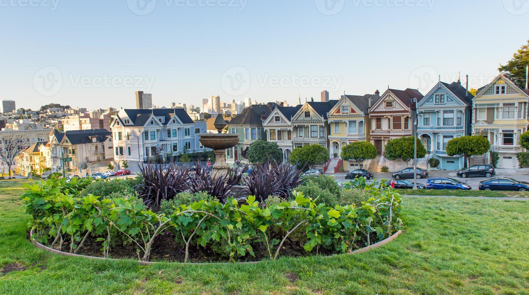 de geschilderde dames van San Francisco, Californië foto