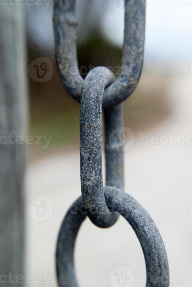 ketting link close-up foto