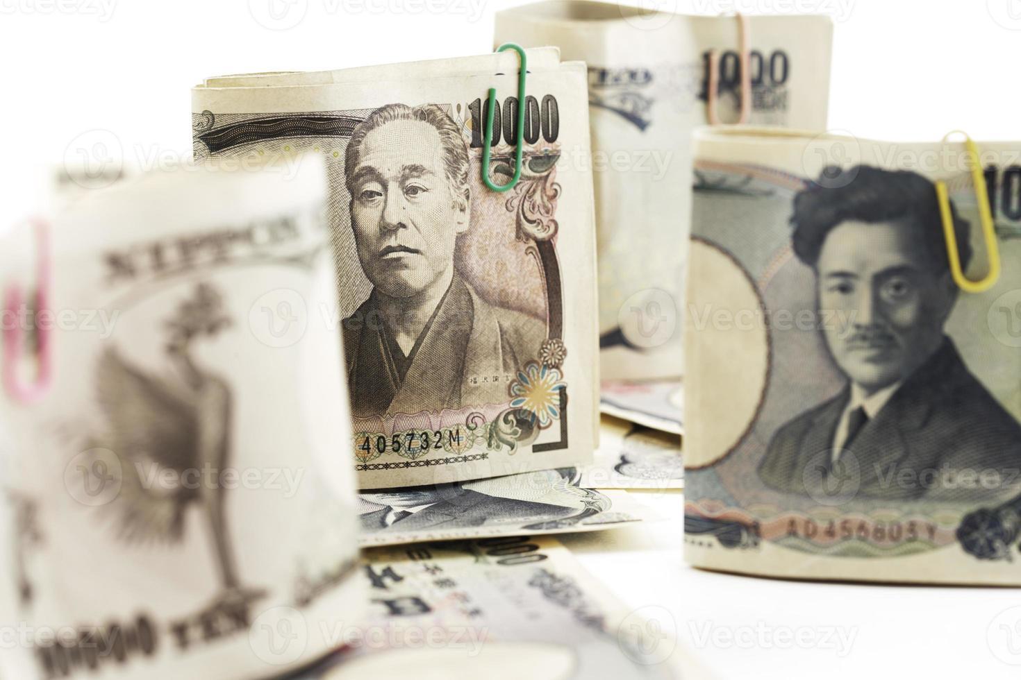 Japanse notities, close-up foto