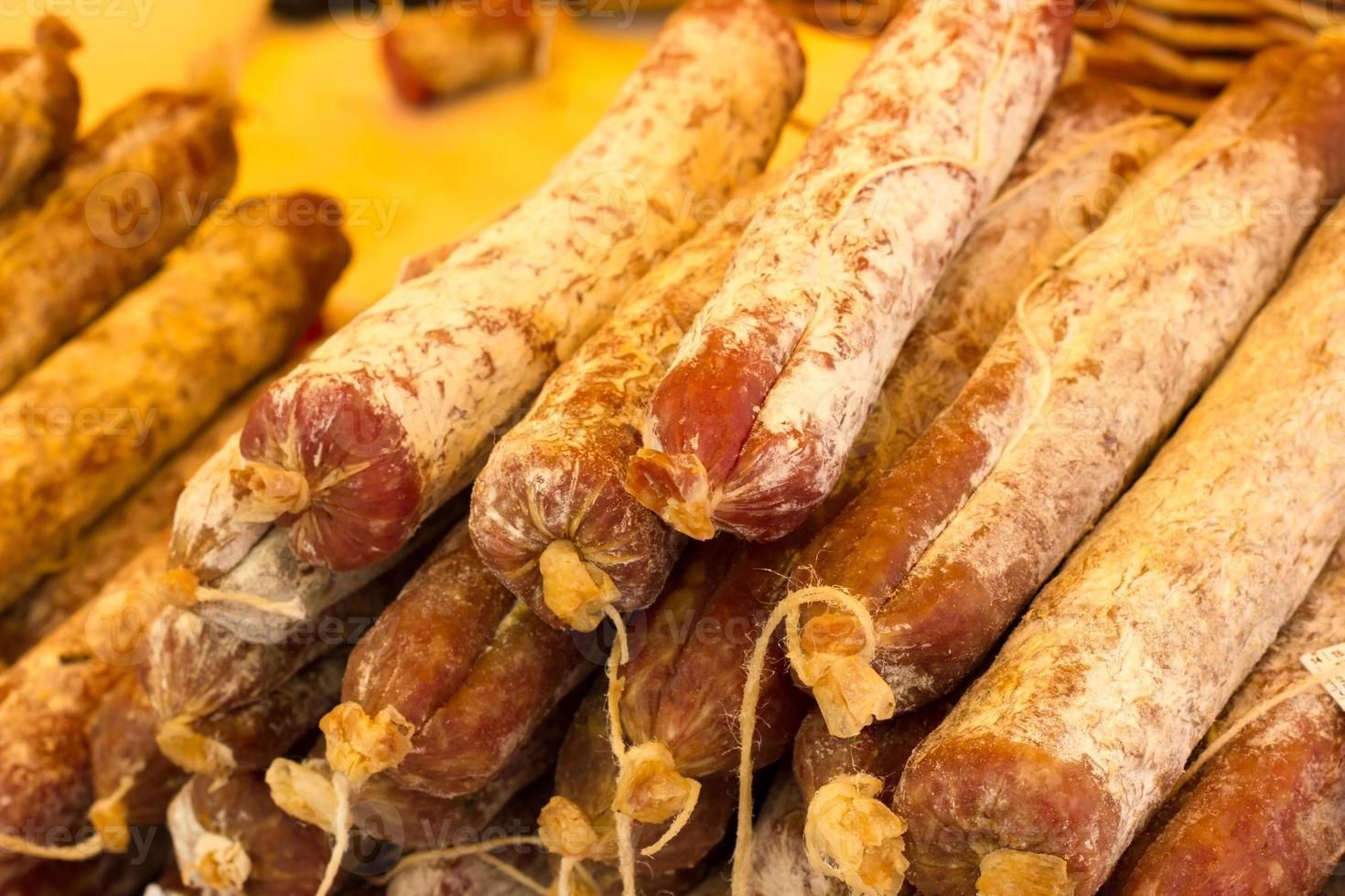 salami uit Italië foto