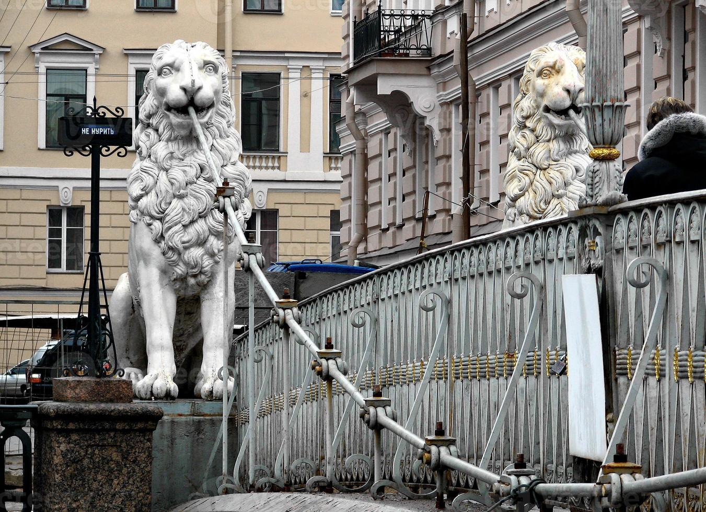leeuwen brug foto