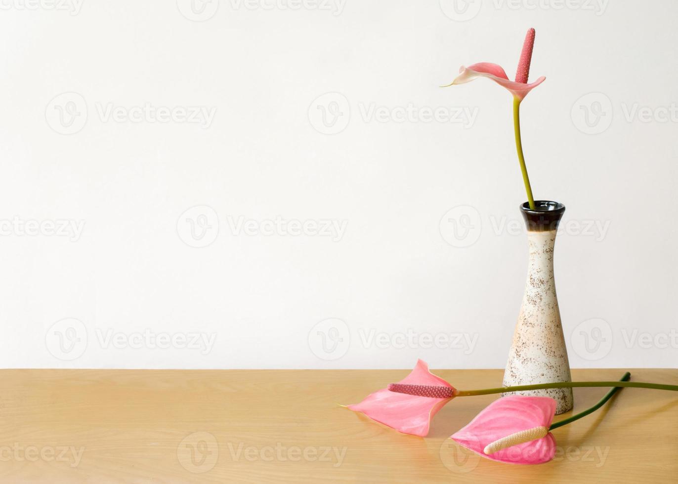 anthurium bloemenvaas foto