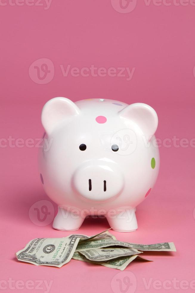 geld varken foto