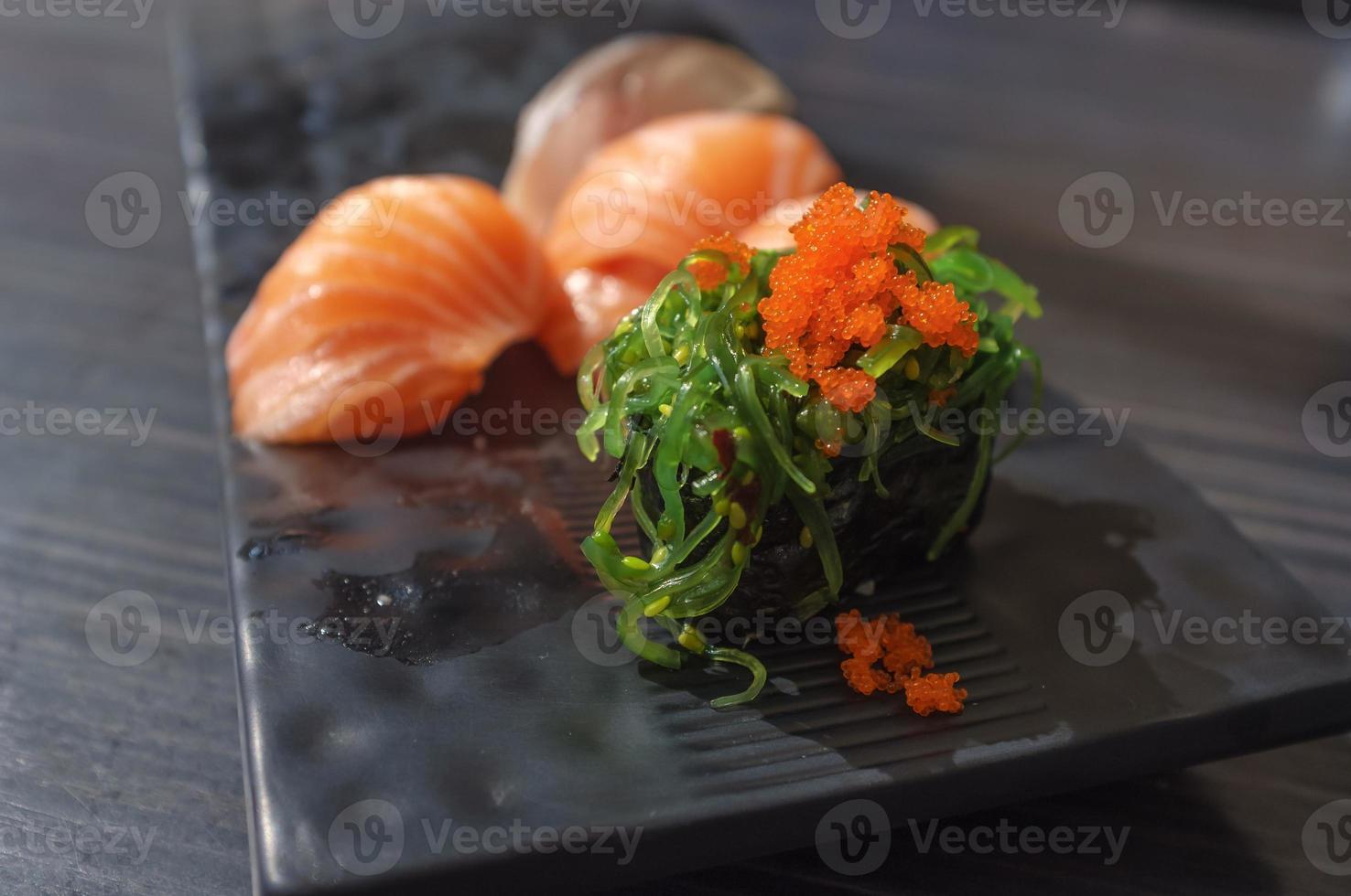 zeewier roll foto
