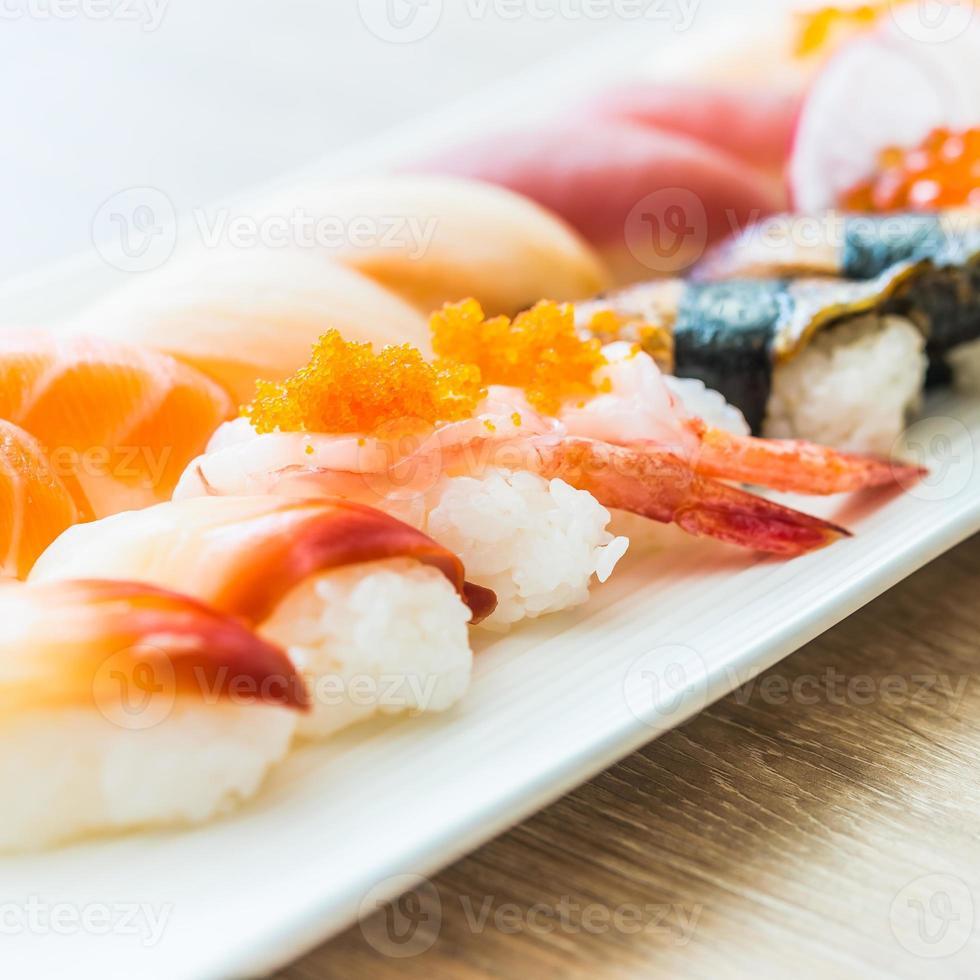 nigiri sushi foto