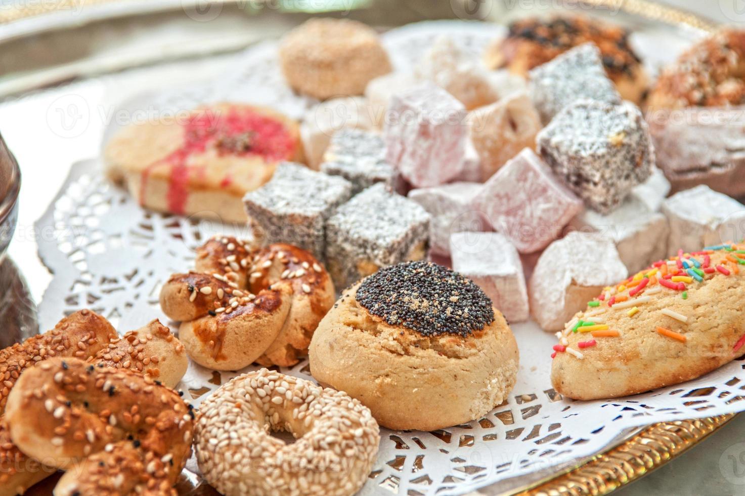 turkish delight dessert foto