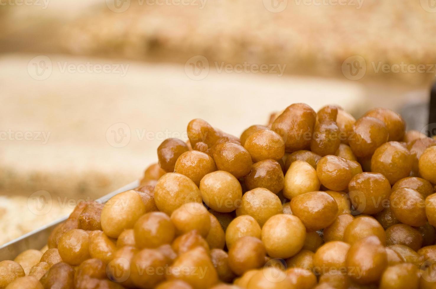 zoete Arabische woestijn foto