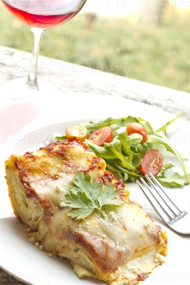 kaas lasagne foto