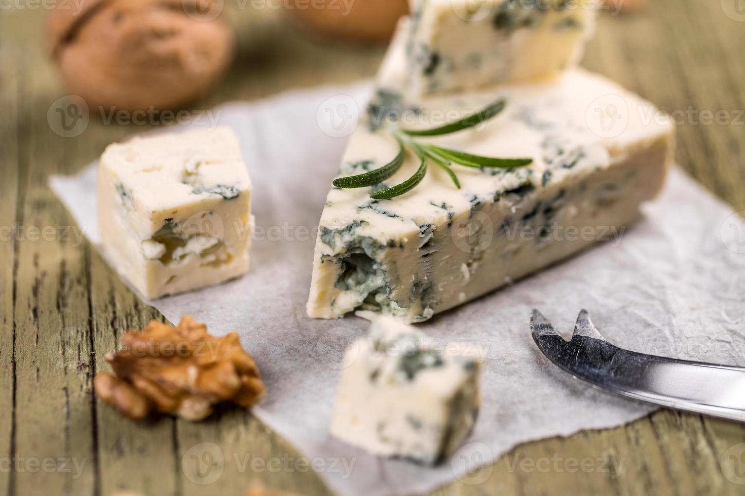 blauwe kaas foto