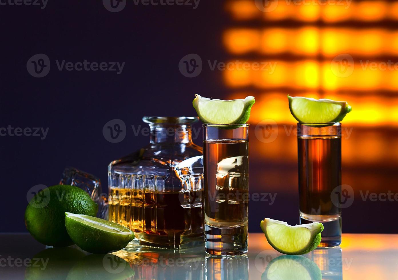 gouden tequila foto