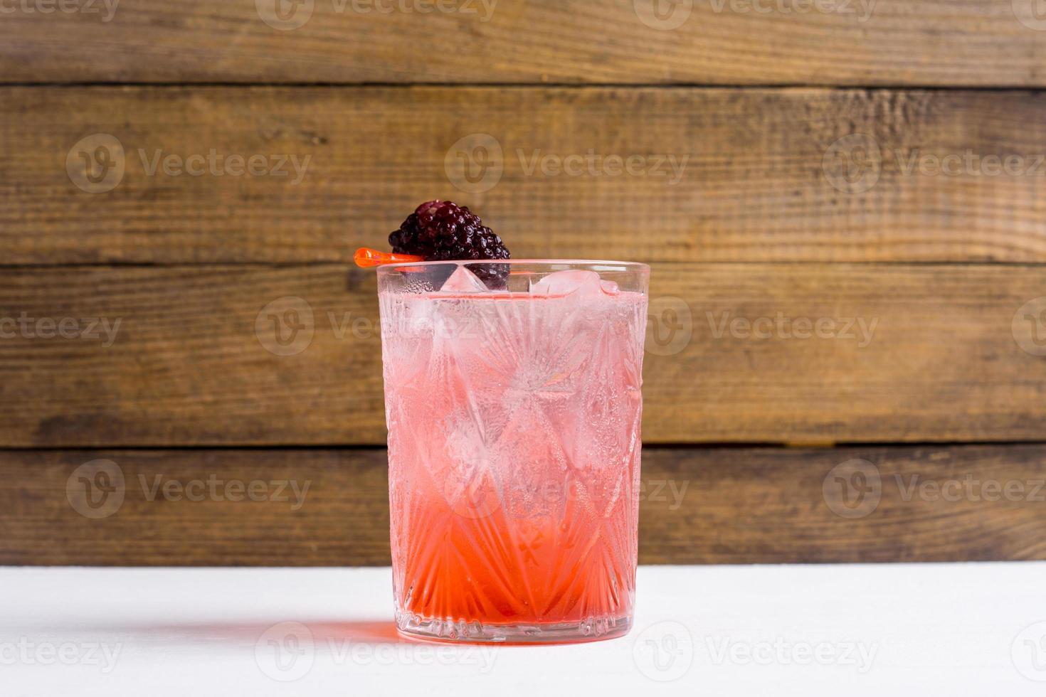 Blackberry-cocktail foto