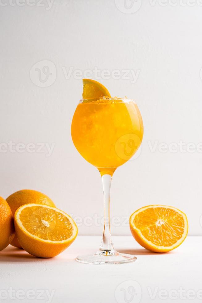 oranje cocktail foto