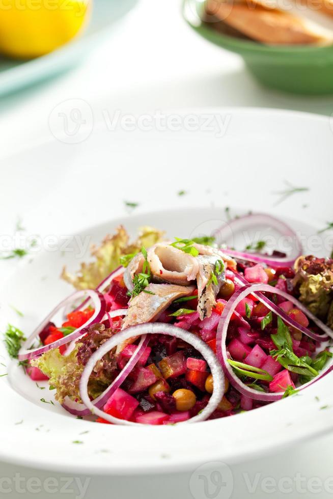 Russische salade foto