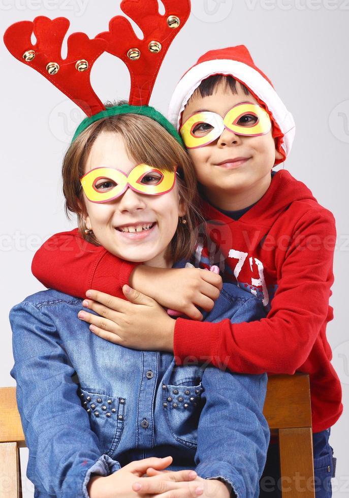 kerst kinderen foto