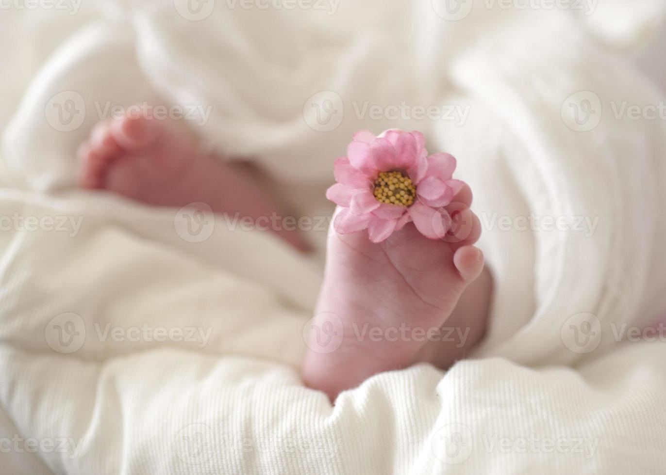 baby voeten foto