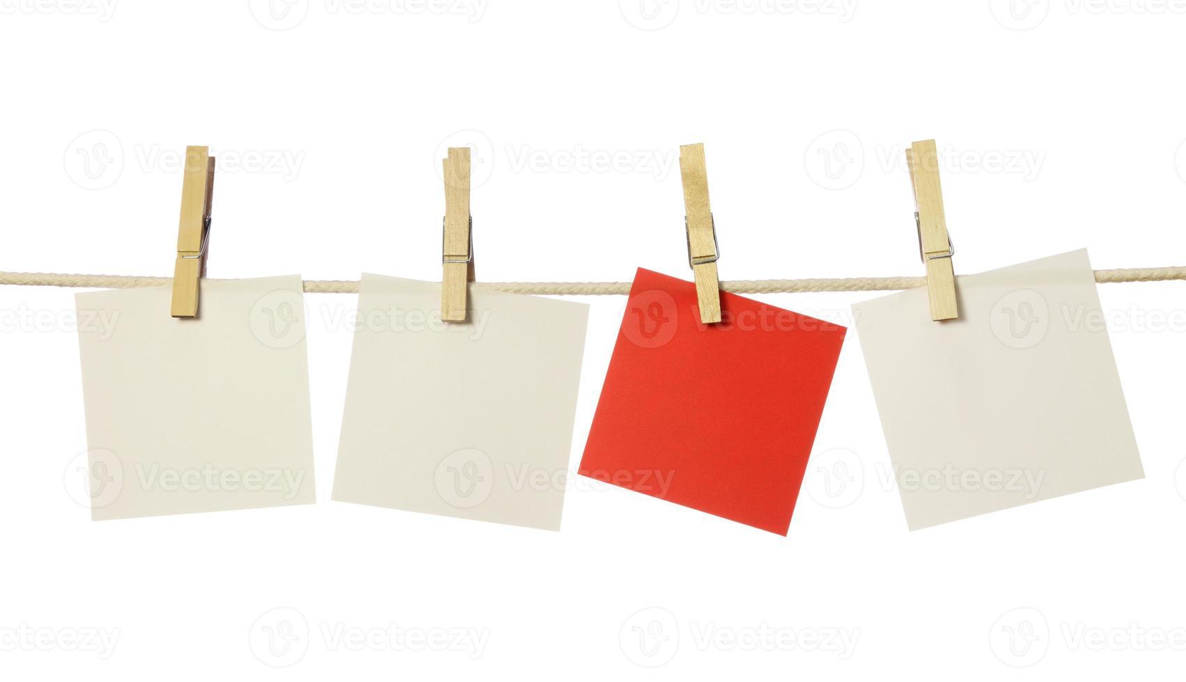 vier blanco biljetten foto