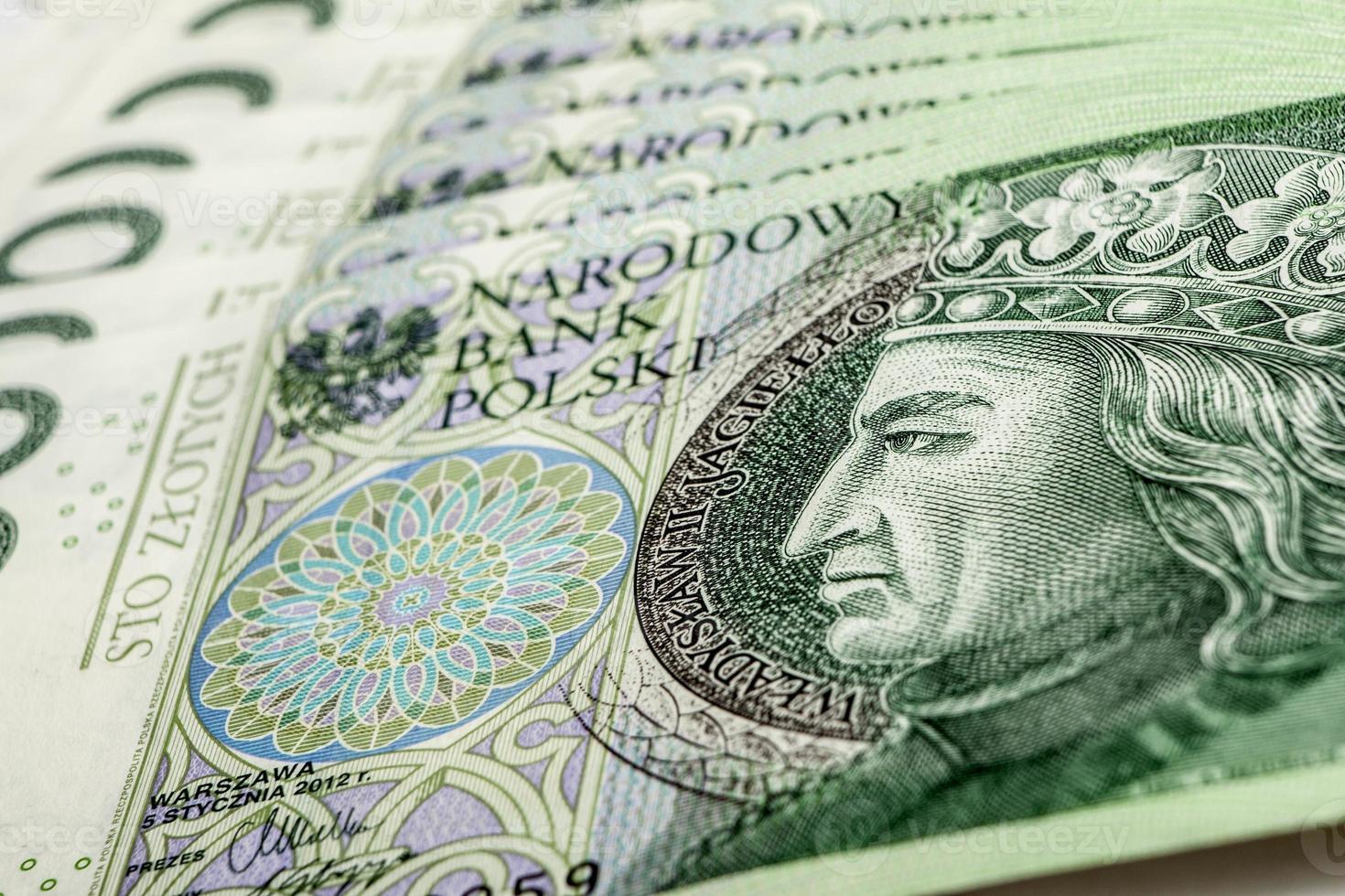 bankbiljet 100 pln - Poolse zloty foto