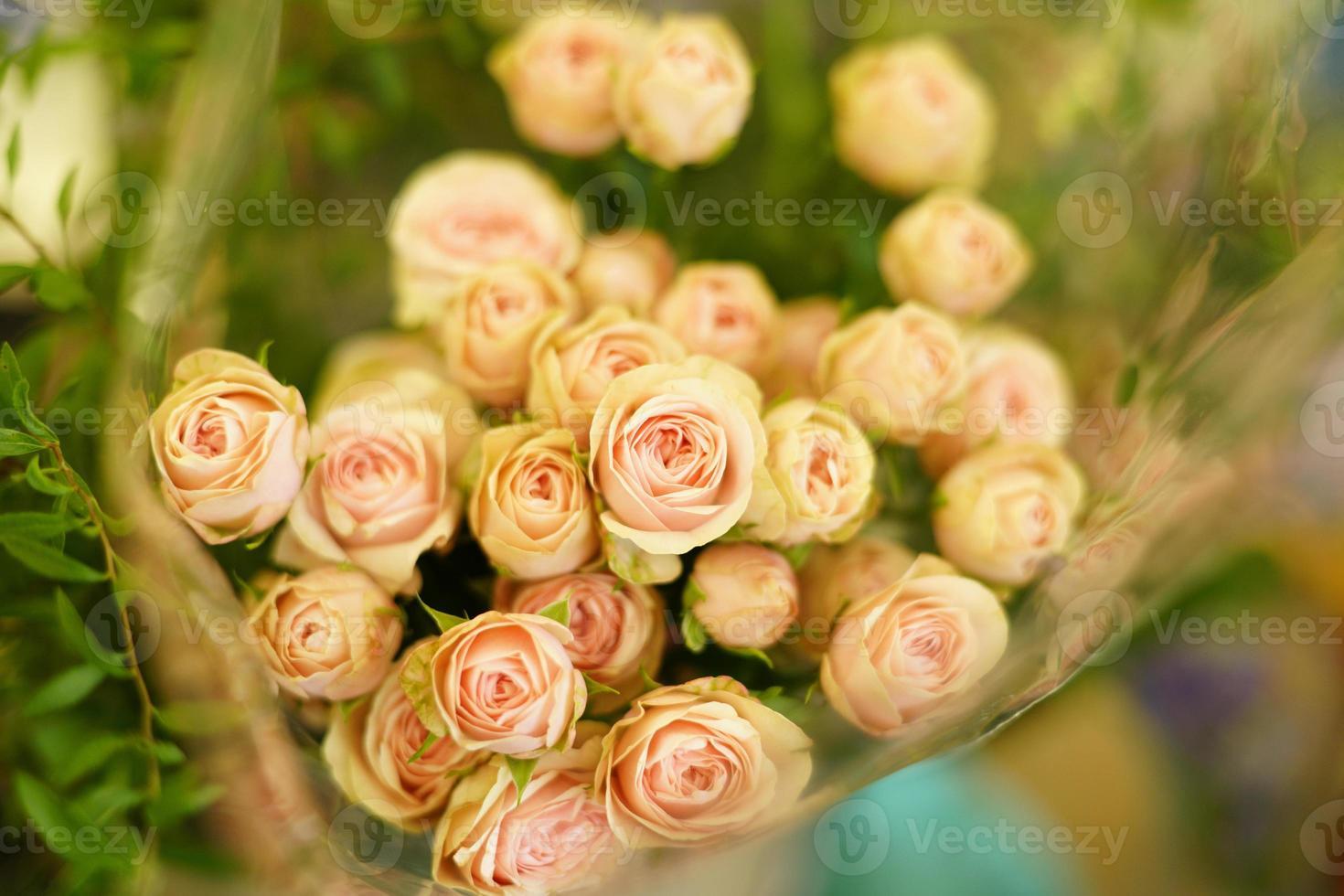 roos boeket foto