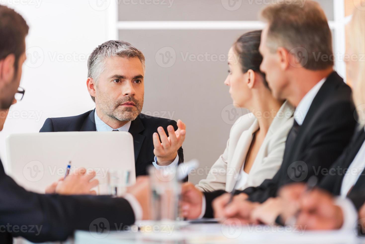 zakelijke bijeenkomst. foto