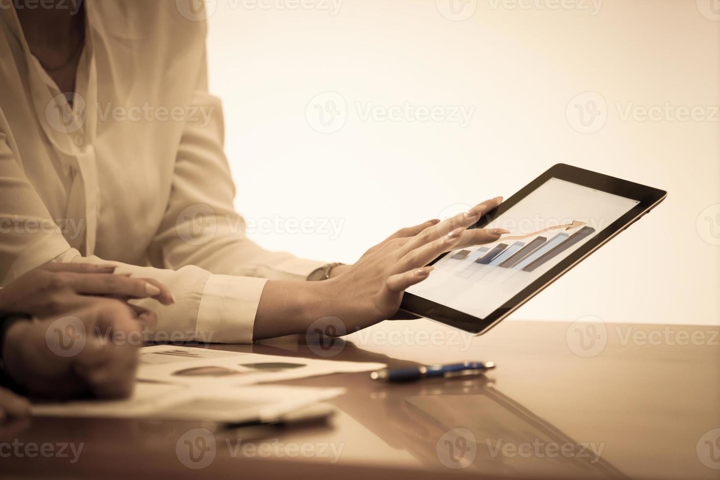 zakelijke touchpad foto