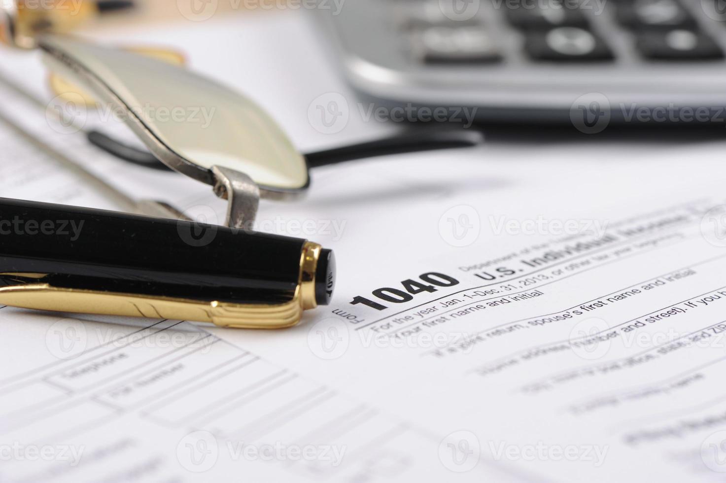 inkomstenbelastingen foto