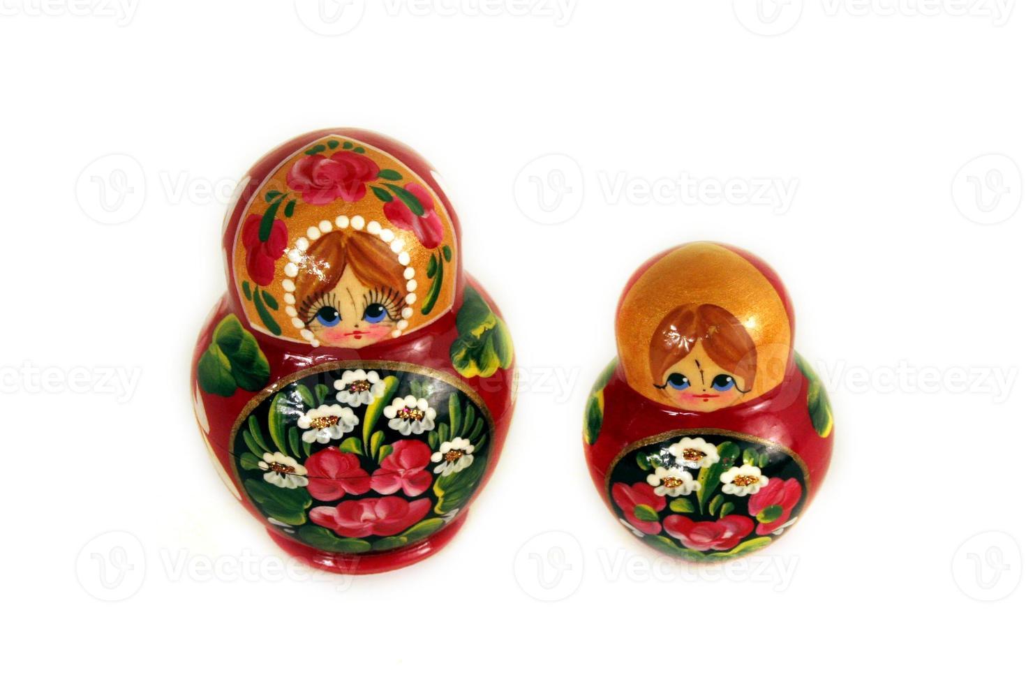 twee Russische poppen foto