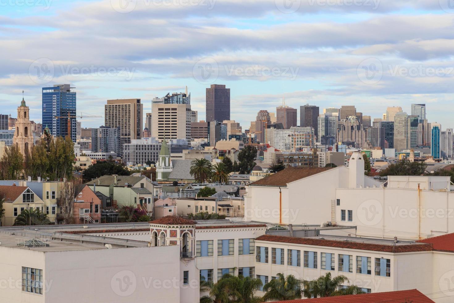 de daken van San Francisco foto