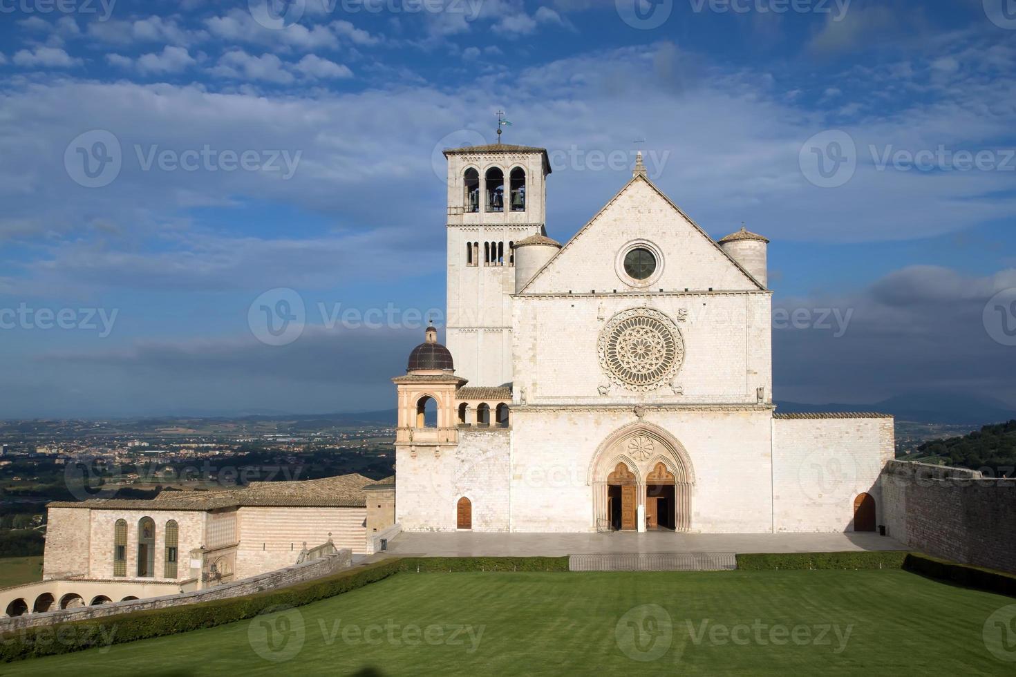 de pauselijke basiliek van st. francis van assisi foto