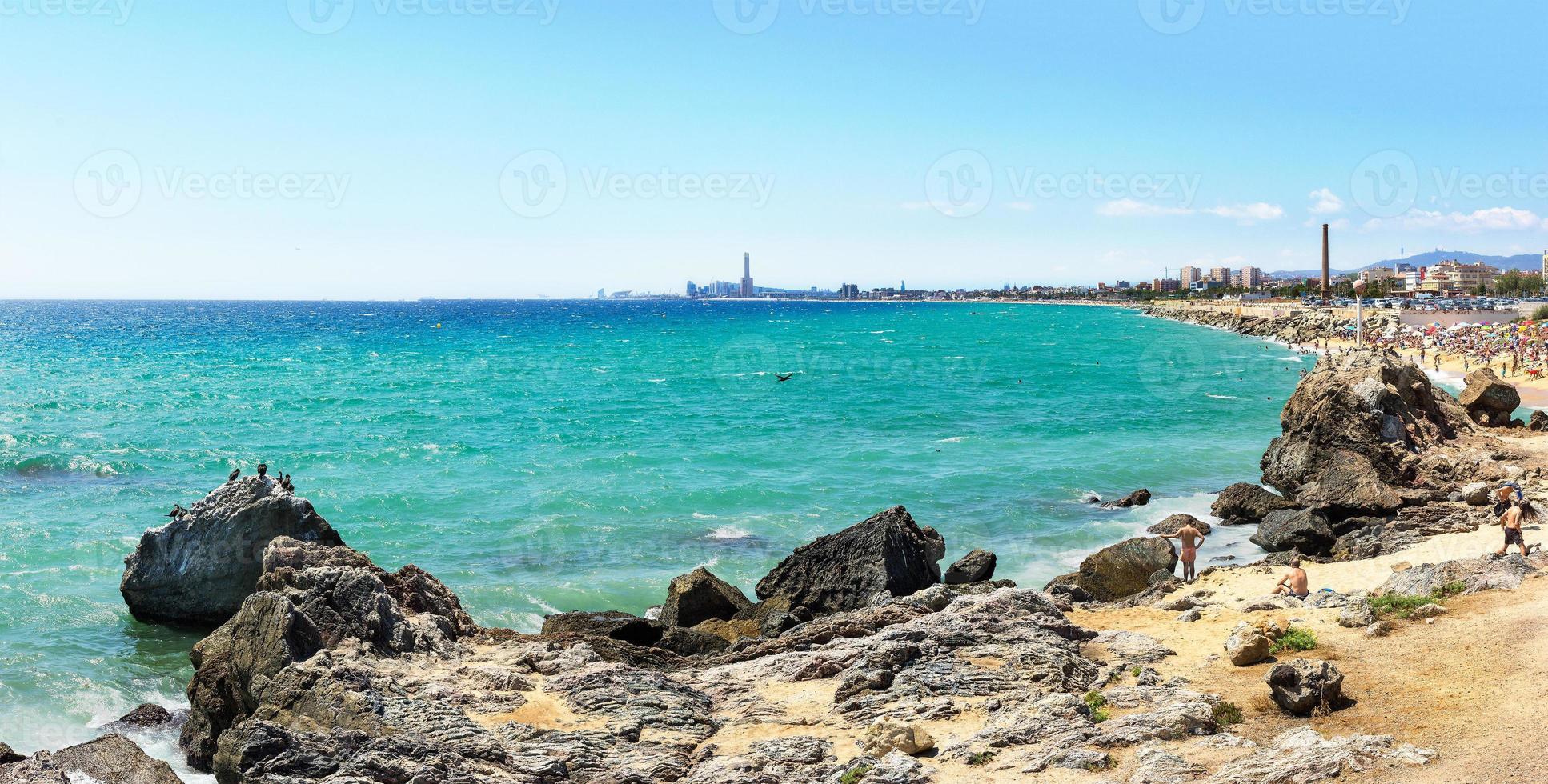 mongat strand foto