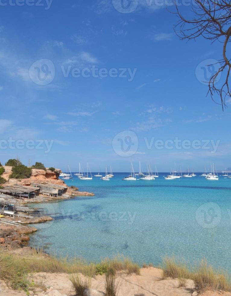 mediterrane stranden foto